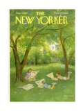 The New Yorker Cover - August 12, 1961 Regular Giclee Print by Edna Eicke