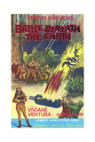 Battle Beneath the Earth Posters