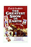 The Greatest Show on Earth Plakat