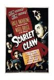 The Scarlet Claw Kunstdruck