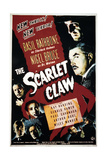 The Scarlet Claw Poster