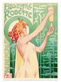 Absinthe Robette - Art Nouveau Nude Belgian Art