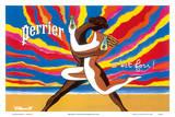 Perrier - The Dancing Couple (Le Couple Dansant) - This is Crazy! (C'est Fou!) Art by Bernard Villemot