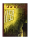 The New Yorker Cover - January 1, 1955 Regular Giclee Print by Arthur Getz