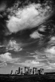 Clouds over the Henge Photographic Print by Adrian Campfield