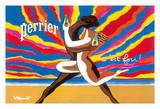 Perrier - The Dancing Couple (Le Couple Dansant) - This is Crazy! (C'est Fou!) Lámina giclée por Bernard Villemot