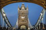 El Puente de la Torre, Londres Lámina fotográfica por Adrian Campfield