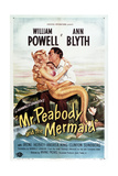 Mr. Peabody and the Mermaid Plakater