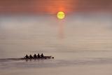 Row,Row,Row Your Boat Fotografie-Druck von Adrian Campfield
