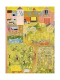 The New Yorker Cover - September 20, 1947 Regular Giclee Print by Ilonka Karasz