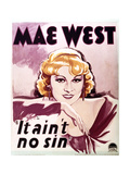 Mae West Posters