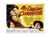 My Darling Clementine Posters