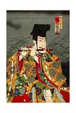 Ichikawa Danjuro as Hirai Yasumasa Giclee Print by Kunichika toyohara