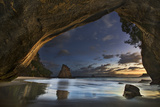 Cathedral Cove Photographic Print by Yan Zhang