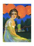 Ravinia Cover 1917 Giclee Print by Hamilton King