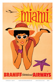 Miami, Florida - Braniff International Airways Arte