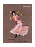 Ping Pong Girl Giclee Print by Hamilton King
