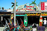 Jays Rentals Venice Beach Photographic Print by Steve Ash