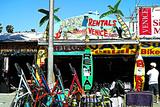 Jays Rentals Venice Beach Photographic Print by Steve Ash