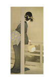 Waiting for the Moon Giclee Print by Shoen Uemura