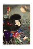 Nakamura Shikan Iv as Hakamadare Yasusuke Giclee Print by Kunichika toyohara