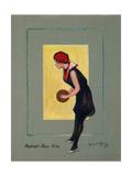 Basket Ball Girl Giclee Print by Hamilton King