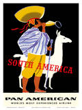 South America - Pan American World Airways Prints