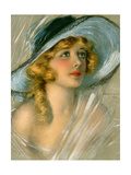 Marion Davies Hat 1920 Giclee Print by Hamilton King