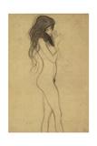 Standing Female Nude 1 Giclee Print by Gustav Klimt