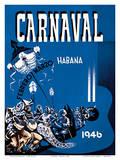 Carnaval de La Habana 1946 - Havana, Cuba - February March (Febrero Marzo) Prints by Enrique Caravia Montenegro