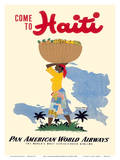 Come to Haiti - Pan American World Airways Prints by E. Lafond