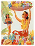 Hawaii Abundance (Makena) Art by Ted Mundorff