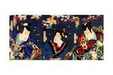 Actors Bando Hikosaburo as Fuha Ban'emon Giclee Print by Kunichika toyohara