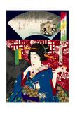 Mitate Kaiseki Hakkei Giclee Print by Kunichika toyohara