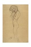 Standing Female Nude 2 Giclee Print by Gustav Klimt