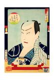 The Kabuki Actor Sawamura Gennosuke III Giclee Print by Kunichika toyohara