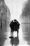 January, Floods in Paris 1910 Photographic Print by Brothers Seeberger