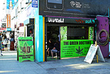 The Green Doctors at Venice Beach Photographic Print by Steve Ash