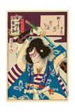 Ichikawa Danjuro Engei Hyakuban - Oboshi Yuranosuke Giclee Print by Kunichika toyohara