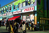 Tattoos, Piercing and Pizza, Venice Beach Photographic Print by Steve Ash
