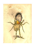 Spider 1873 'Missing Links' Parade Costume Design Lámina giclée por Charles Briton