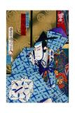 Cherry Princess - Kabuki Giclee Print by Kunichika toyohara
