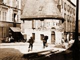 """Pavillon Dit de """"La Belle Gabrielle"""" Photographic Print by Eugène Atget"""