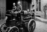 Firemen, Cars Reels Photographic Print by Brothers Seeberger
