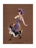 Light Opera Dancer Giclee Print by Hamilton King