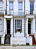Apartment Number 57 and 59, Notting Hill in London Photographic Print by Anna Siena