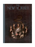 The New Yorker Cover - June 16, 1951 Premium Giclee Print by Rea Irvin