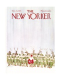 The New Yorker Cover - December 24, 1973 Regular Giclee Print by James Stevenson