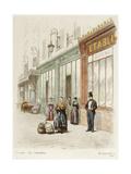 Bureau des Omnibus Giclee Print by Adolphe Martial-Potémont