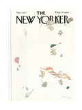 The New Yorker Cover - March 7, 1977 Premium Giclee Print by R.O. Blechman